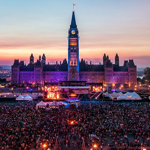 Canada Day in Ottawa – July 1, 2016