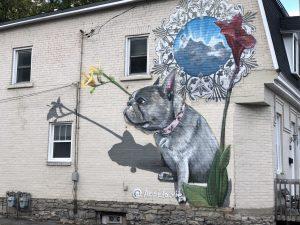Mural at 118 Stirling Avenue Hintonburg